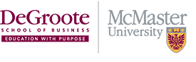 DeGroote School of Business logo